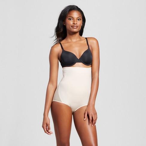 bd53b952821 SlimShaper By Miracle Brands® Women s Sheer High Waist Brief - Nude ...