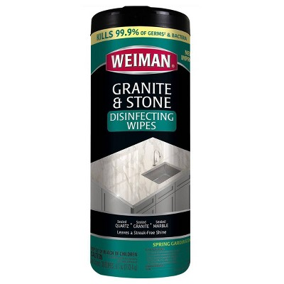 Kitchen Cleaner: Weiman Granite & Stone Daily Wipes