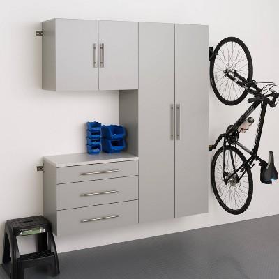"3pc 60"" Hangups Storage Cabinet Set - Prepac"