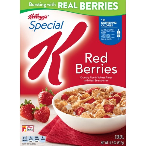 Special K Red Berries Breakfast Cereal - 11.2oz - Kellogg's - image 1 of 8
