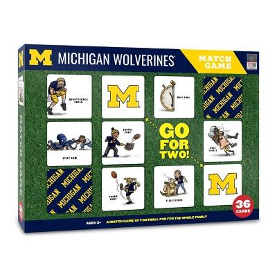NCAA Michigan Wolverines Football Match Game