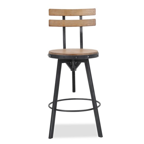 Magnificent Fenix Wooden Barstool Antique White Christopher Knight Home Pabps2019 Chair Design Images Pabps2019Com