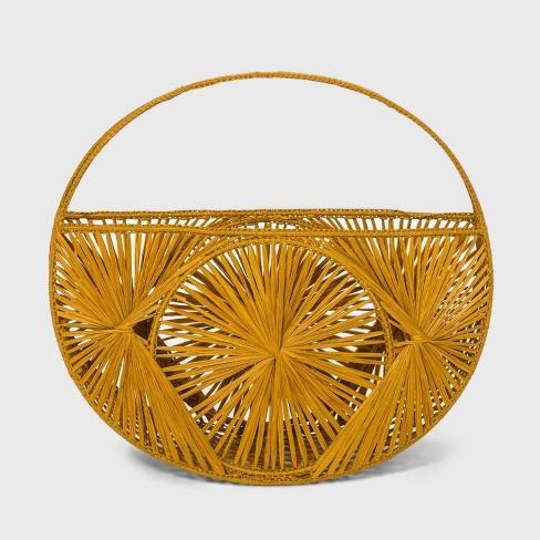 Woven Tote Handbag - A New Day™ - image 1 of 2
