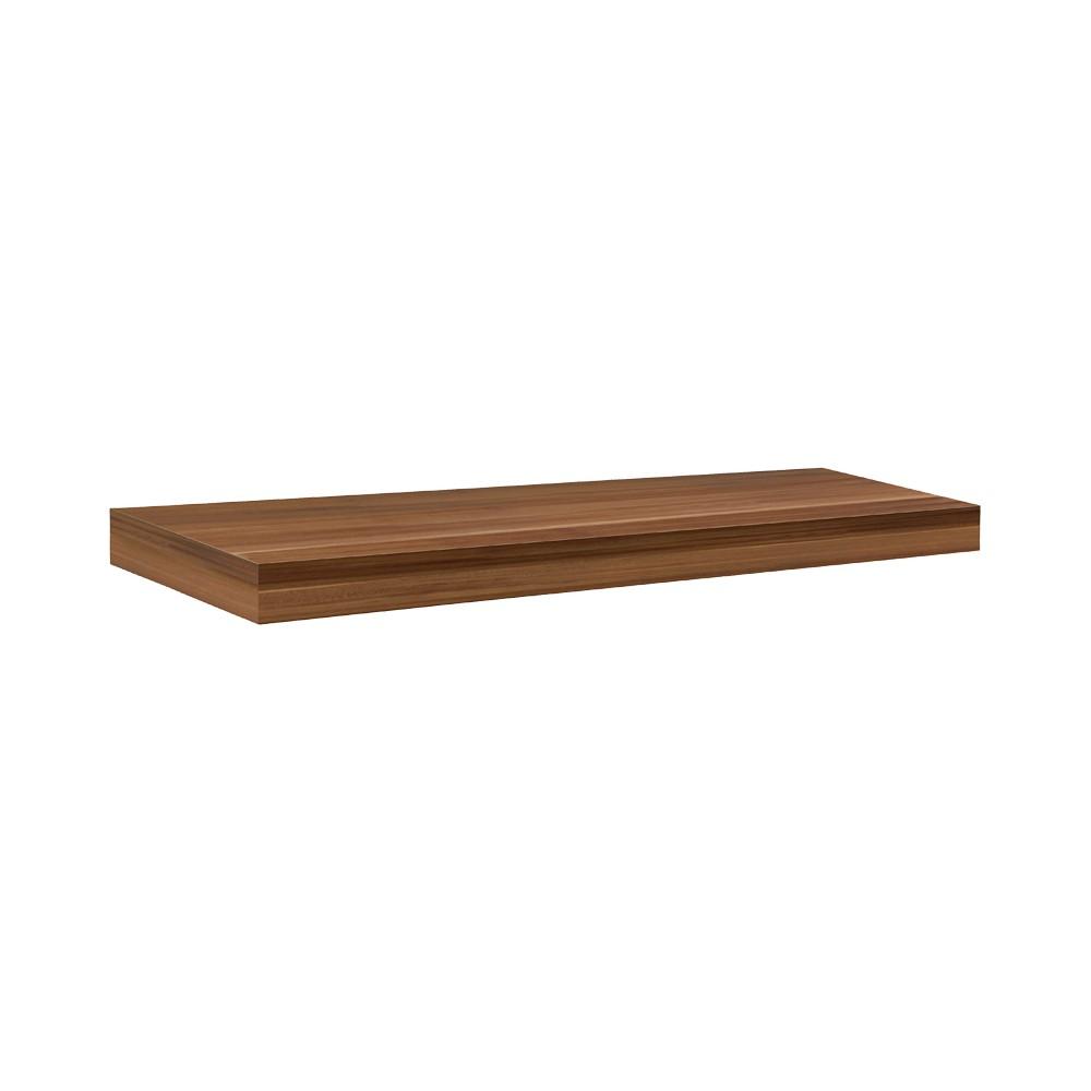"Image of ""Big Boy Heavy Duty Shelf - Walnut 35.5"""", Brown"""