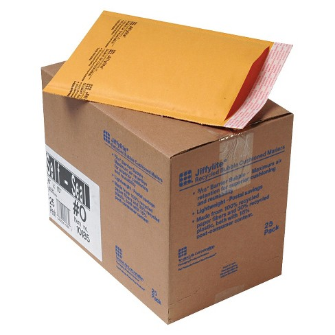 Air Jiffylite® 6in x 10in Self-Seal Mailer with Side Seam - Golden Brown (25 Per Carton) - image 1 of 1