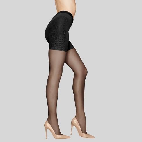 c431355e7 Hanes® Premium Women s Silky Sheer Control Top Pantyhose - Off Black ...