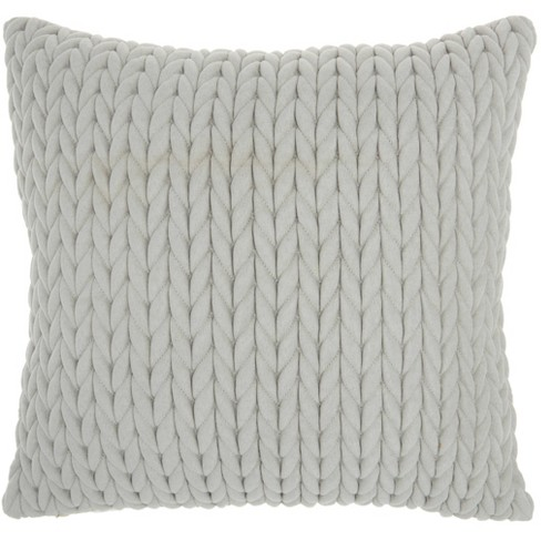 Life Styles Quilted Chevron Throw Pillow - Nourison - image 1 of 4