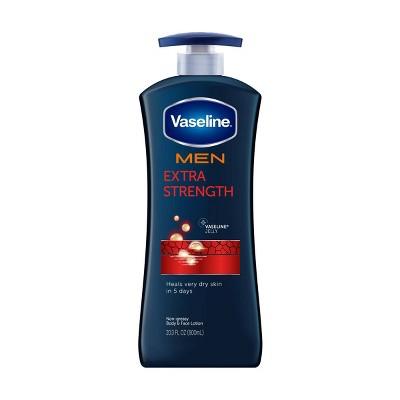 Vaseline Men's Extra Strength Hand and Body Lotion - 20.3oz