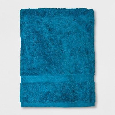 Soft Solid Bath Towel Turquoise - Opalhouse™