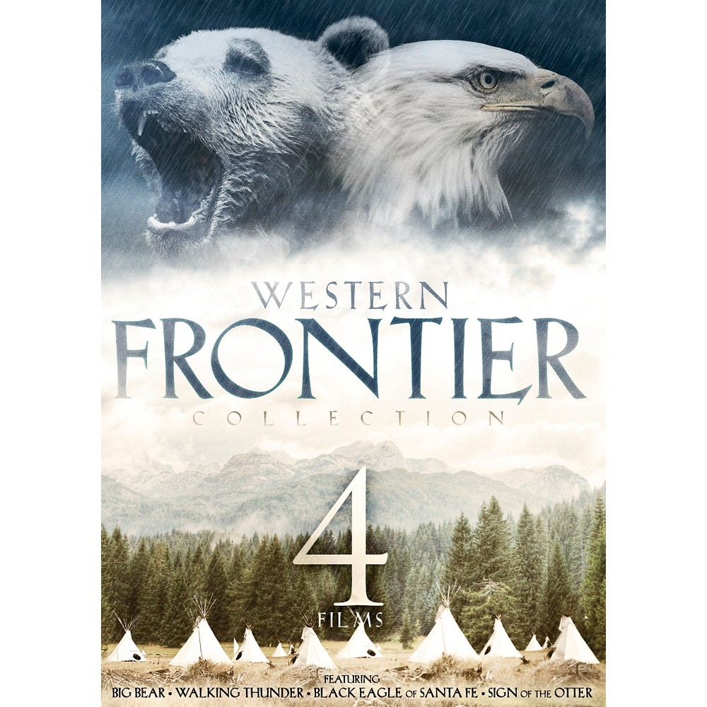 4 Film Western Frontier Collection (Dvd)