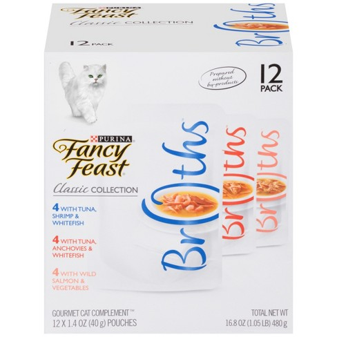 Purina Fancy Feast Classic Collection Wet Cat Food (Variety Pack) - 1.4oz pouches/12pk - image 1 of 4