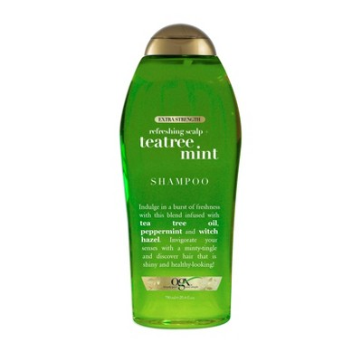 OGX Extra Strength Refreshing Scalp + Tea Tree Mint Shampoo -  - 25.4 fl oz