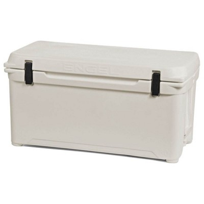 Engel Coolers 76 Quart 96 Can High Performance Roto Molded Cooler, Coastal White