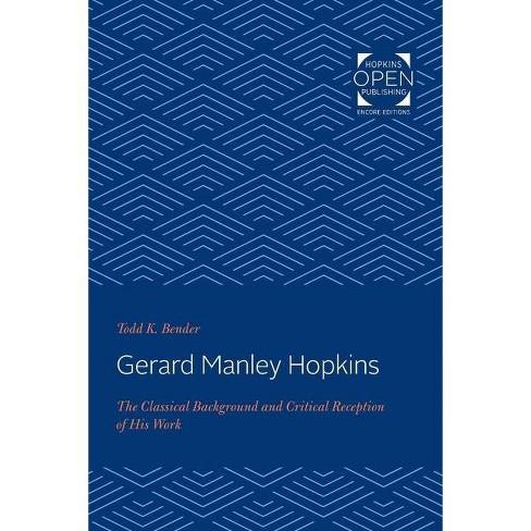 Gerard Manley Hopkins - by  Todd K Bender (Paperback) - image 1 of 1