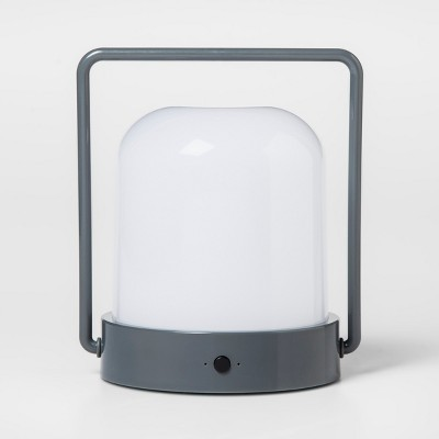 Portable Rechargeable Lantern Gray - Pillowfort™