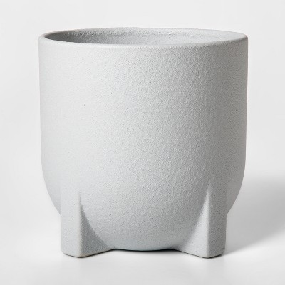 8.3  x 8.1  Ceramic Planter White - Project 62™