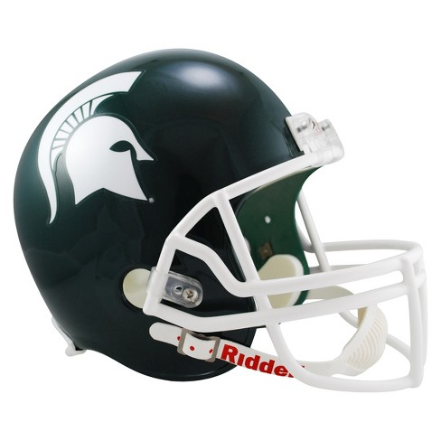 NCAA Michigan State Spartans Riddell Deluxe Replica Helmet - Green - image 1 of 1