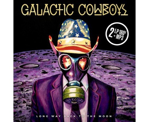 Galactic Cowboys - Long Way Back To The Moon (Vinyl) - image 1 of 1