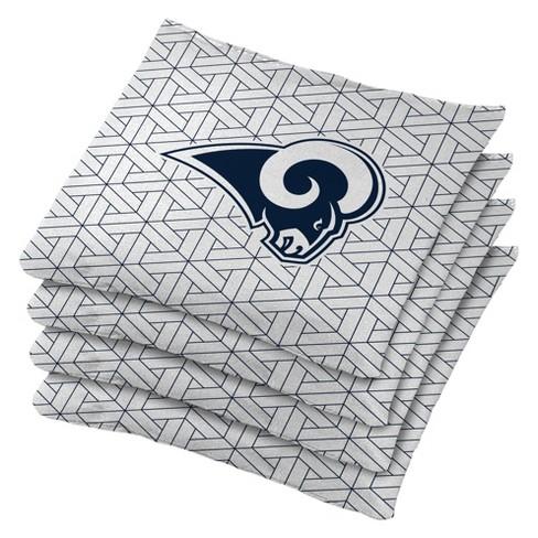 Los Angeles Rams 4pk Bean Bag Set - White - image 1 of 1