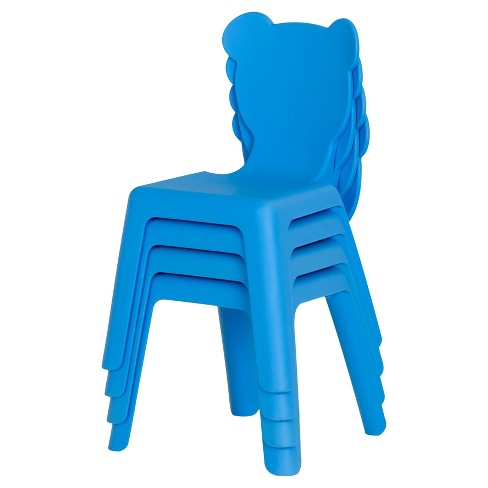 Crea Kids Activity Table with 4 Plastic Chairs Set - South Shore - image 1 of 7