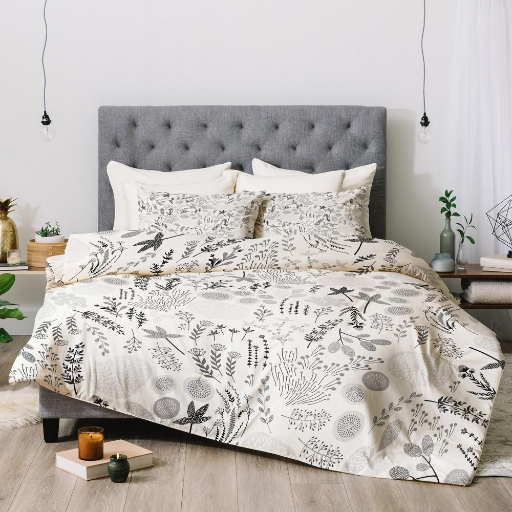 Pink Iveta Abolina Floral Goodness Comforter Set (Twin) - Deny Designs