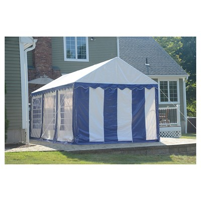 + 1 more  sc 1 st  Target & Shelter Logic 10x20 Party Tent And Enclosure Kit - Blue/White : Target
