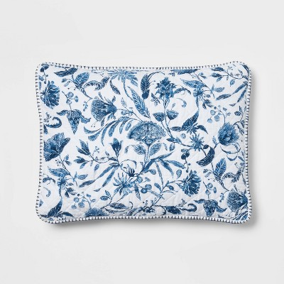 Reversible Floral Quilt Sham - Threshold™