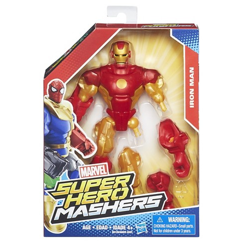 Marvel Super Hero Mashers Iron Man Action Figure   Target 4eb874b0be