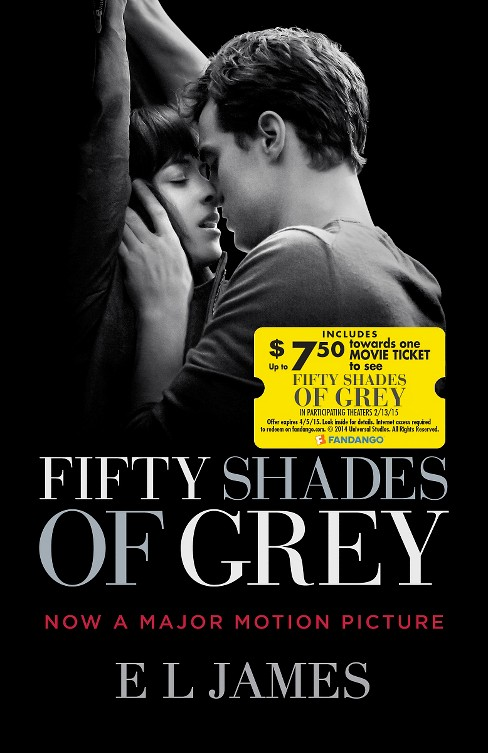 Fifty Shades of Grey (Fandango Offer) (Movie Tie-in Edition) (Paperback) by E. L. James - image 1 of 1