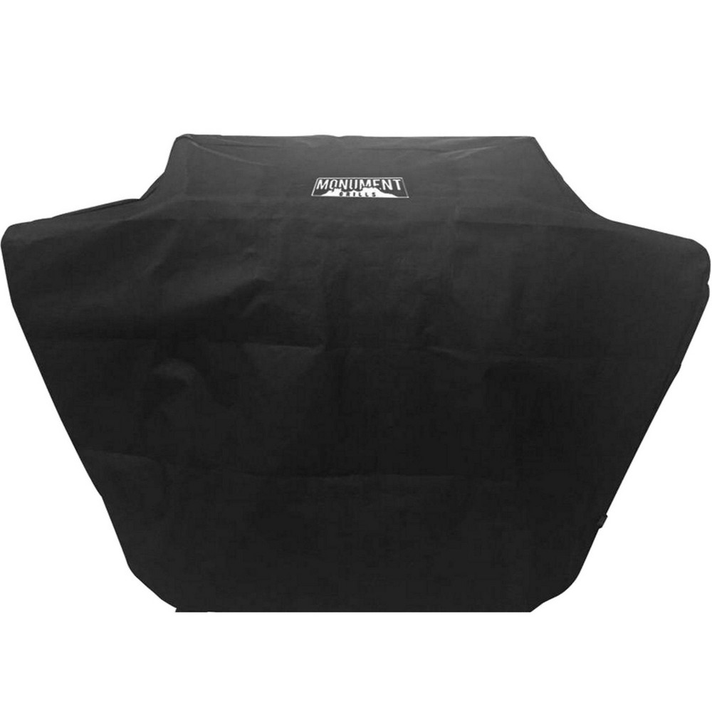 """Discounts 62"""" Grill Cover Black - Monument Grills"""