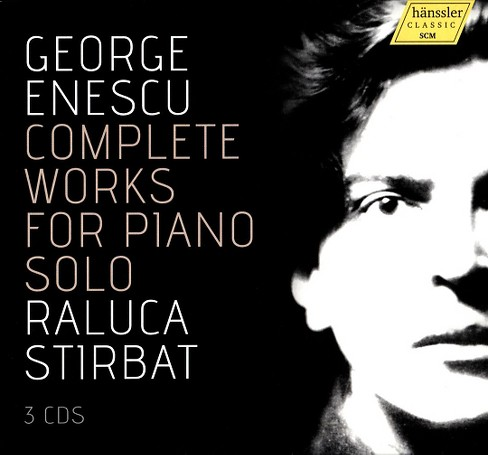 Raluca stirbat - Enescu:Complete works for solo piano (CD) - image 1 of 1