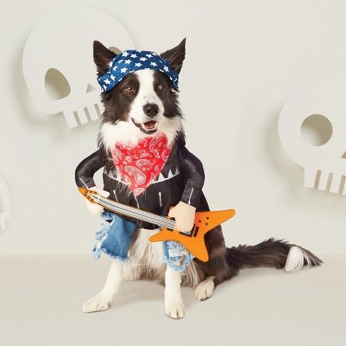 rockstar boy dog costume hyde and eek boutique