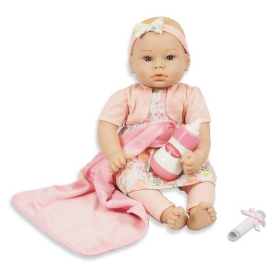 "Madame Alexander 18"" Small Wonders Sweet & Happy Baby Bedtime Set- Pink"