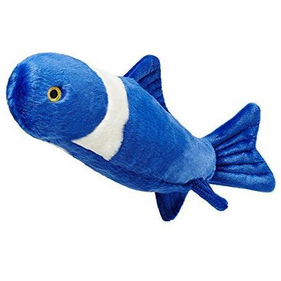 Fluff & Tuff Gil the Koi Fish, Extra Large Plush Dog Toy with Squeaker