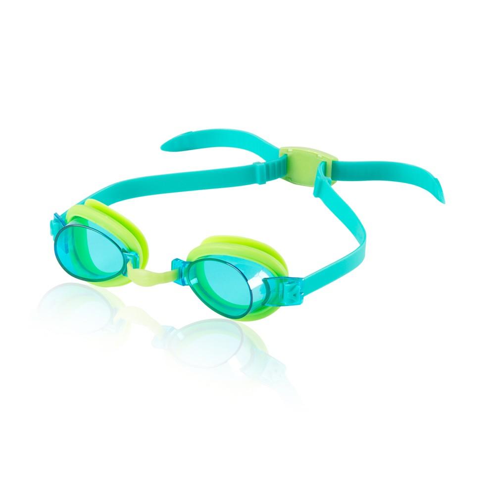 Speedo Kids Splasher Goggle - Green/Blue, Blue Green