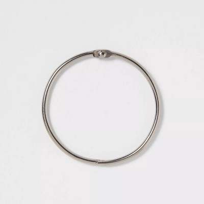 O Ring with 3mm Wire Brushed Nickel - Made By Design™