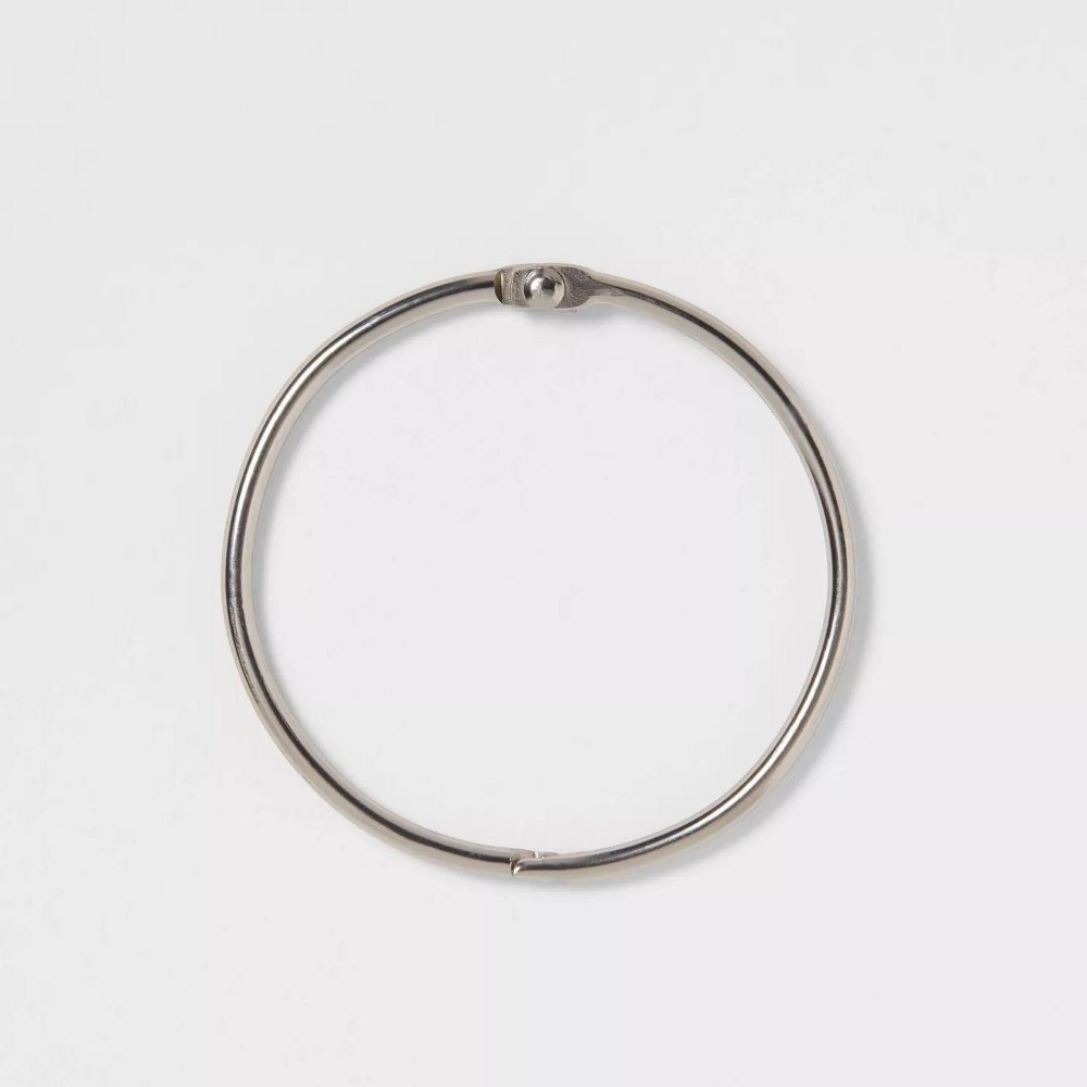 O Ring With 3mm Wire Brushed Nickel Made By Design 8482