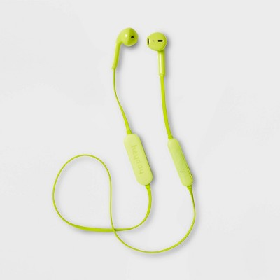 heyday™ Wireless Flat Bluetooth Earbuds - Lime Green