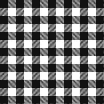 Black/White Check