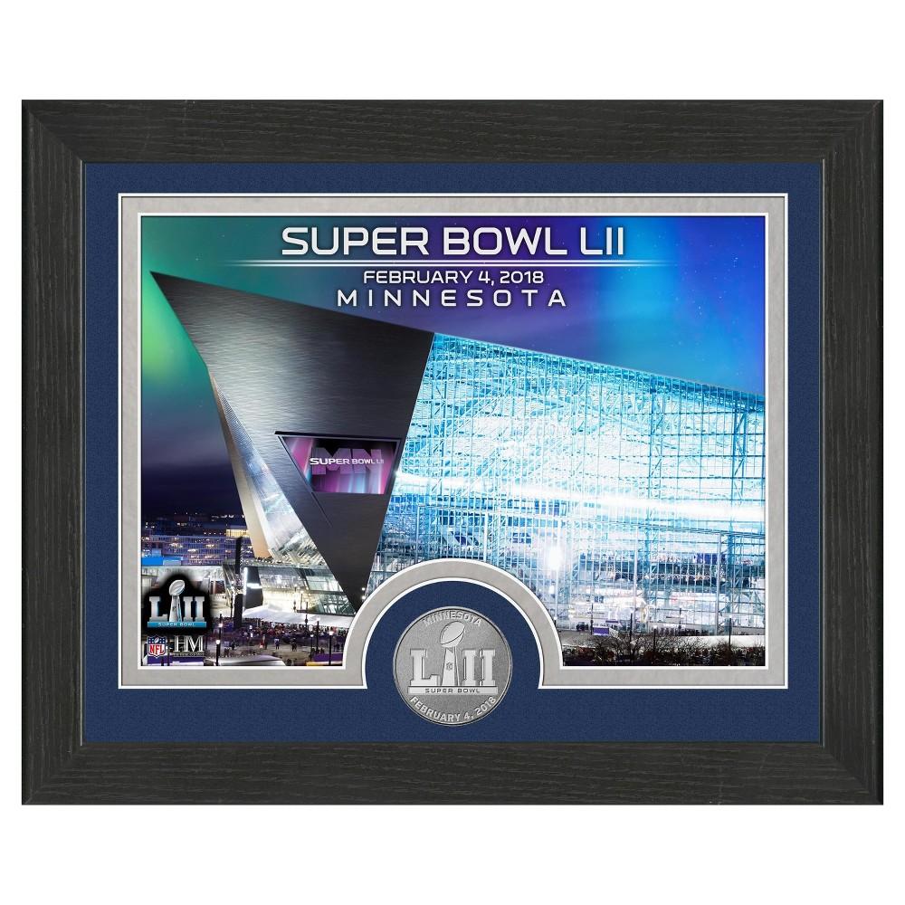 NFL Super Bowl 52 Highland Mint Commemorative Photo Mint