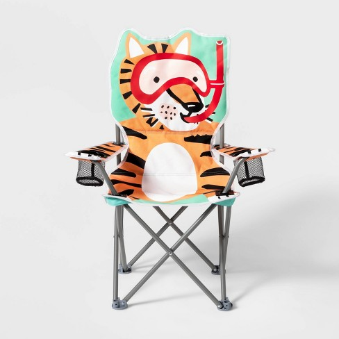 Tiger Character Kids' Chair - Sun Squad™ - image 1 of 4