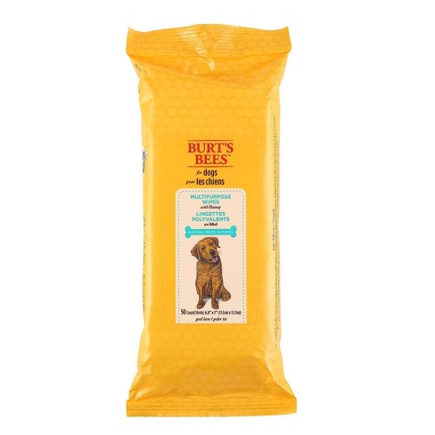 Burt's Bees Pet Cleaning Wipes - 50ct - image 1 of 4