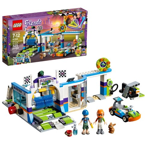 LEGO Friends Spinning Brushes Car Wash 41350 - image 1 of 6