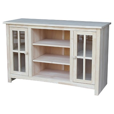 """52"""" Entertainment TV Stand with 2 Doors - International Concepts"""
