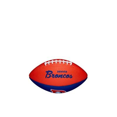 NFL Denver Broncos Mini Retro Football