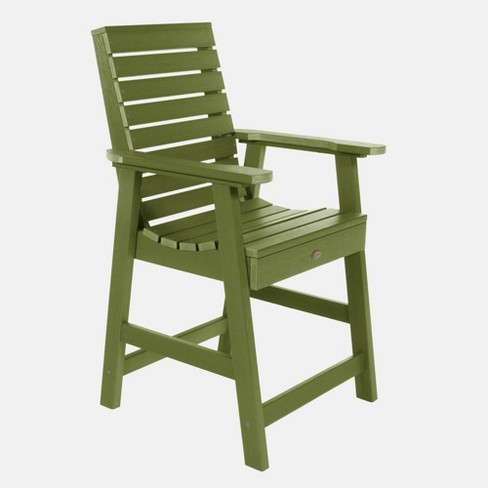 Weatherly Counter Patio Armchair Dried Sage - Highwood - image 1 of 3
