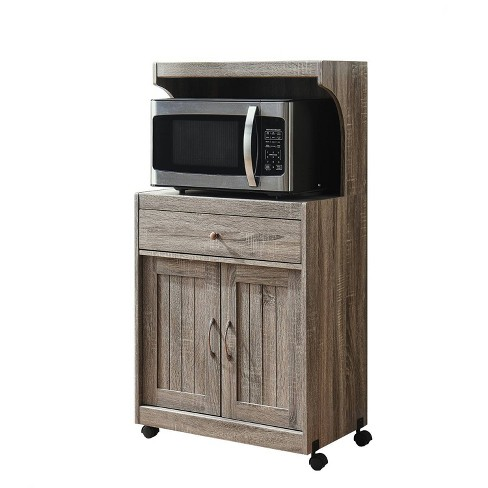 Microwave Cart - Home Source - image 1 of 4