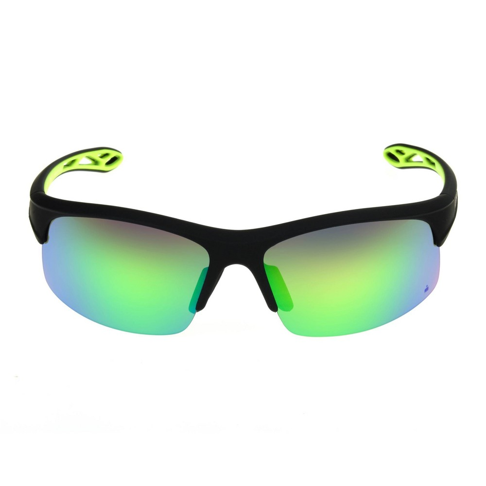 Image of Iron Man Men's Rectangle Sunglasses - Black, Size: Small