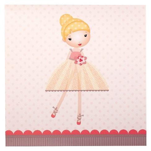 20ct Ballerina Dinner Napkin - image 1 of 1