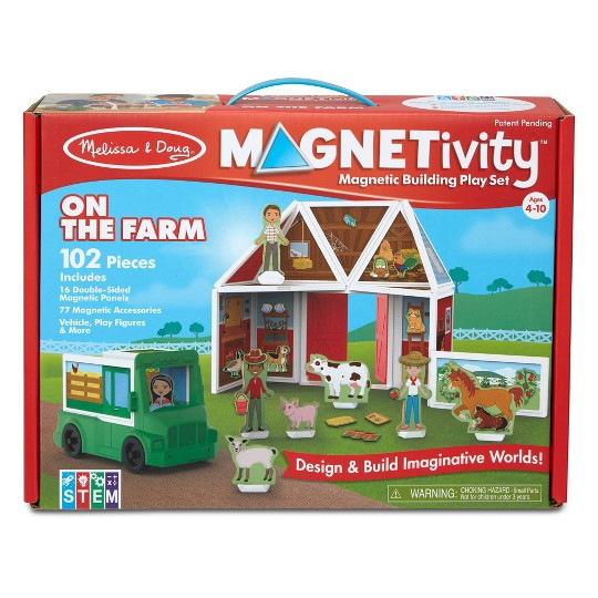 Melissa & Doug Magnetivity - On the Farm image number null